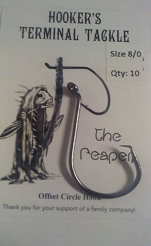 The Reaper Hook by Hookers Terminal Tackle